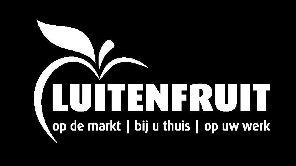LuitenFruit logo wit